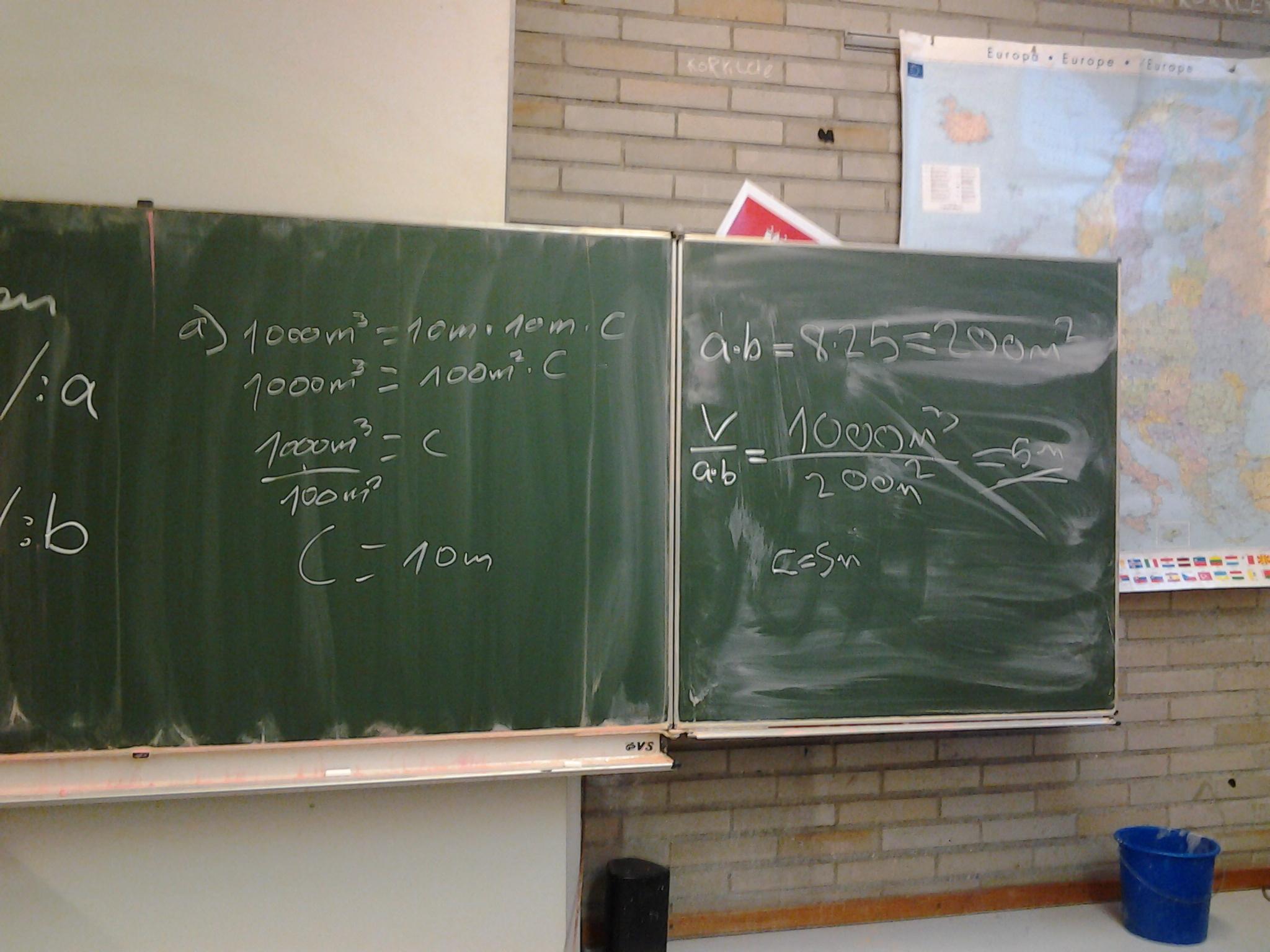 Mathe-Unterricht] Flächen und Volumen in der 8.Klasse | das ...