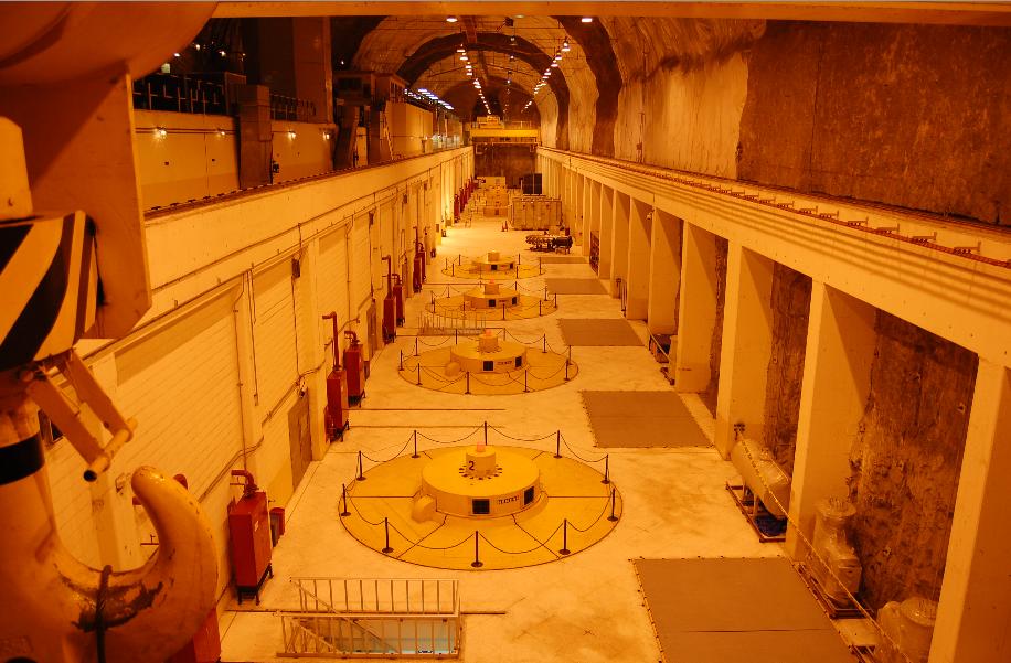 Der Maschinenraum des KW Molino